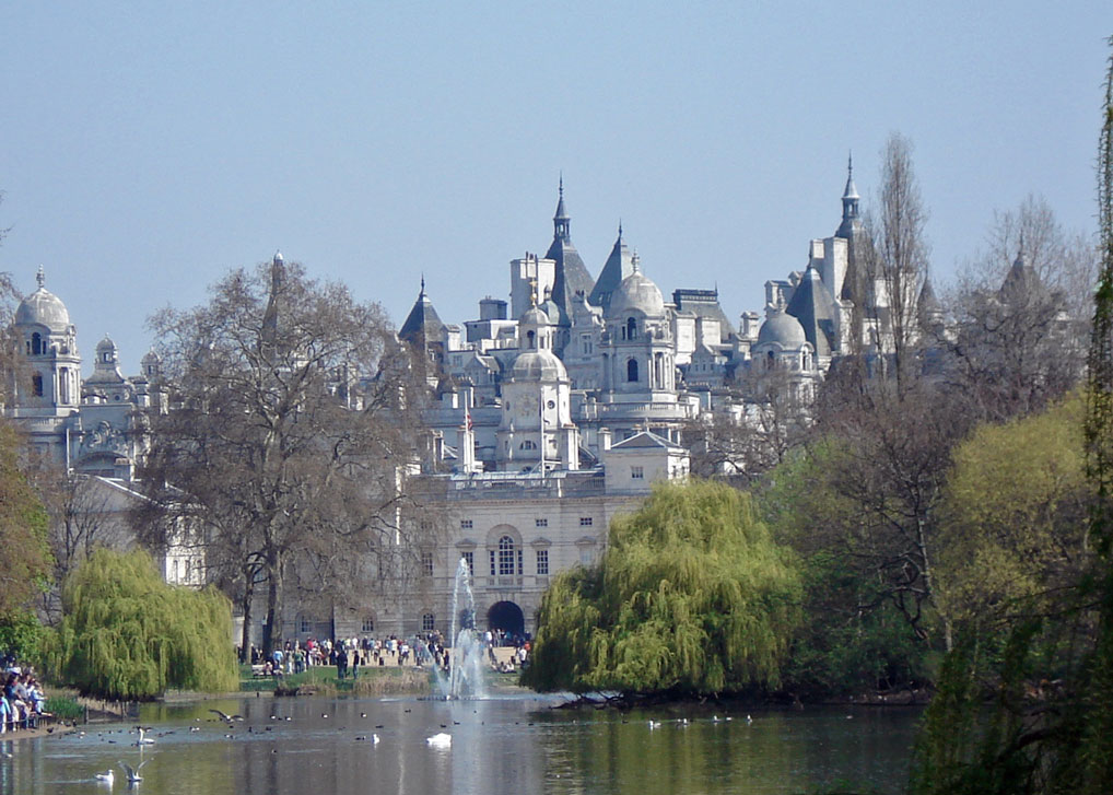 St James's Park, Places to visit in London
