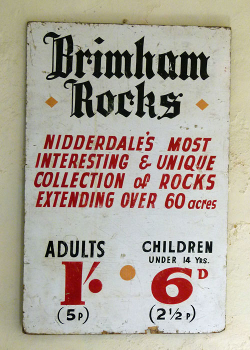 Pre-decimal, entry charges