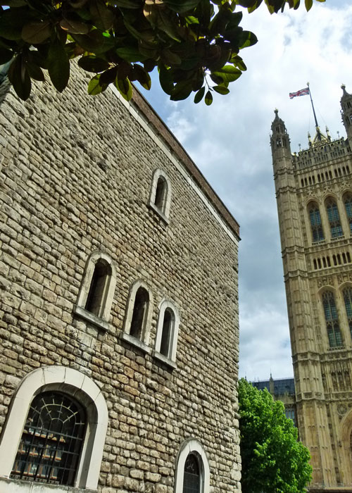 Jewel Tower, medieval London, Palace of Westminster