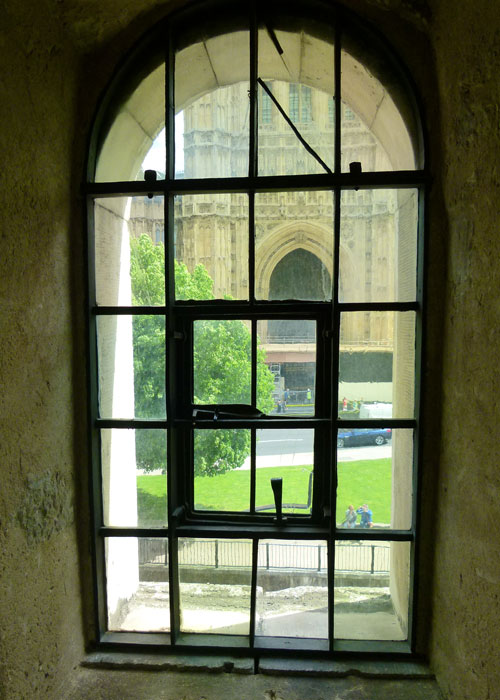 Jewel Tower, windows