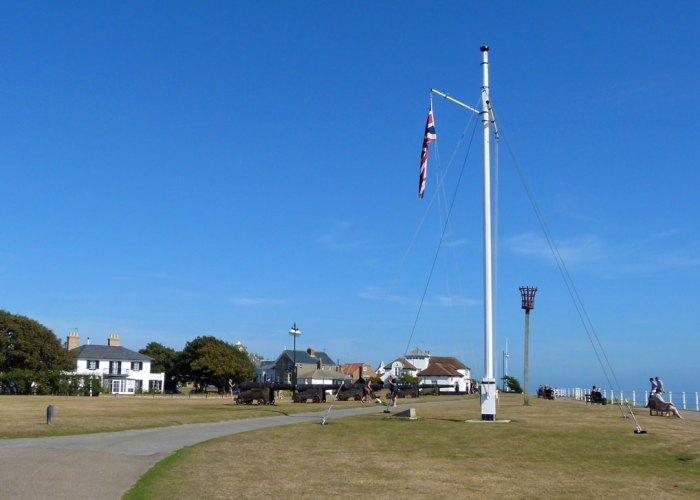 Gun Hill, Southwold, Suffolk, seaside