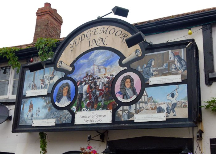 Sedgemoor Inn, Battle of Sedgemoor