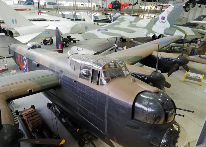 Duxford, Lancaster, Vulcan, bombers