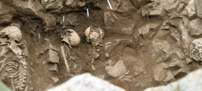 Burials, Lindisfarne