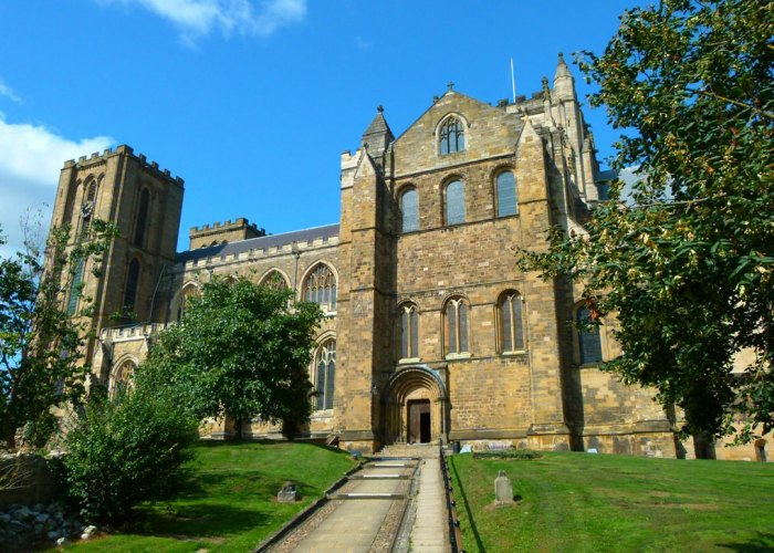 Ripon Cathedral, south side
