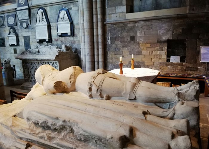 Markenfield tomb, Ripon Cathedral