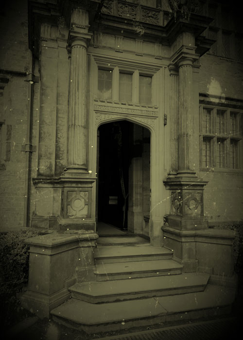 Porch, Gawthorpe Hall