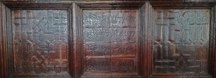 Medieval panelling, Gawthorpe