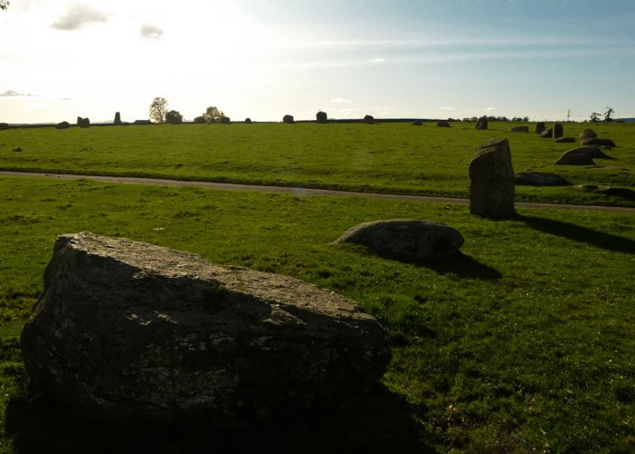 Stone circles in Cumbria