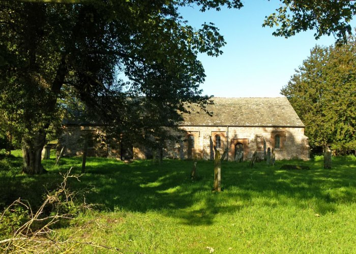 St Ninian's churchyard.