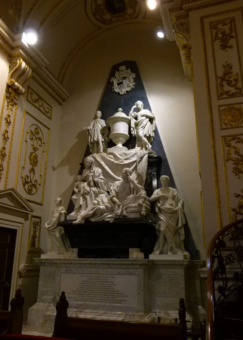 Foley Monument, Great Witley Church