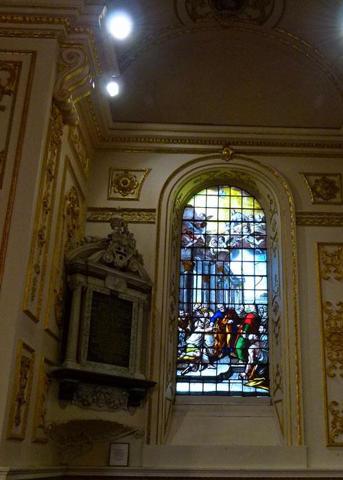 Church windows, Baroque