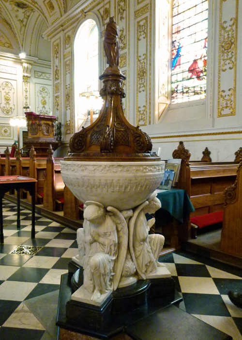 Font, Victorian, Great Witley