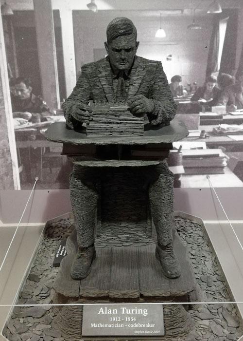 Alan Turing, statue