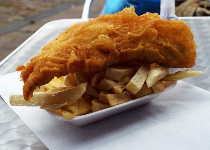 Fish and Chips, things to do in Britain