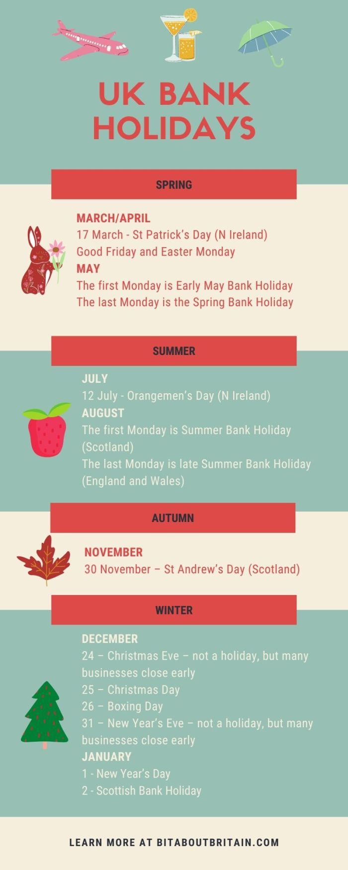 Britain's calendar - A Bit About Britain