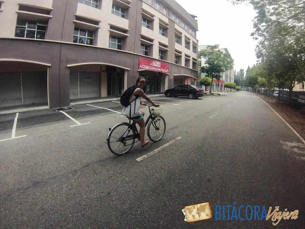 en bici o rickshaw por Melaka (3)