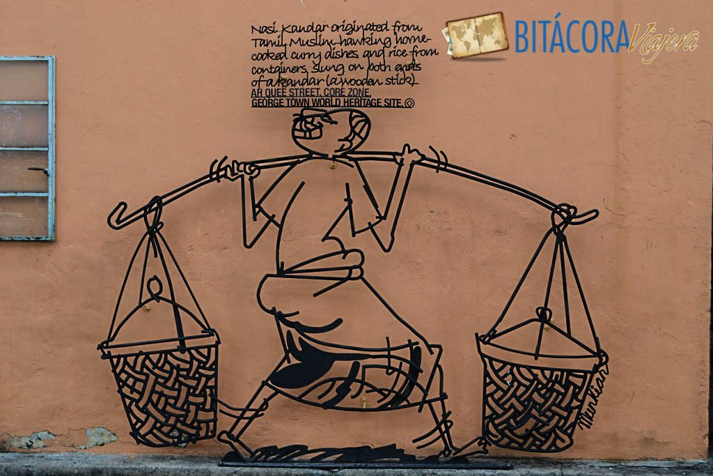 Arte Callejero Penang Esculturas de Hierro (4)