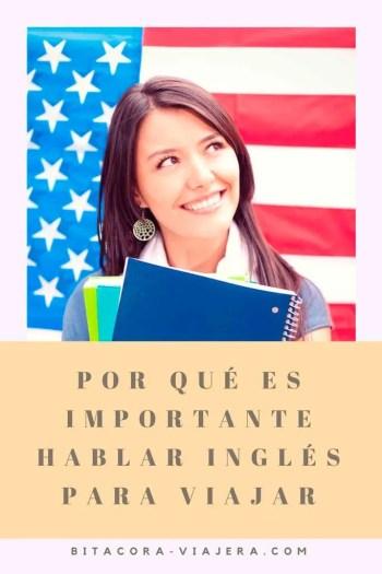 hablar inglés es importante para viajar