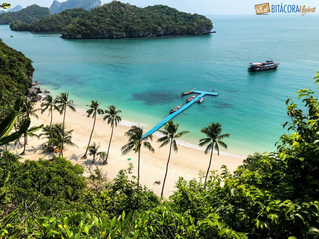 viajar a koh samui parque nacional ang thong