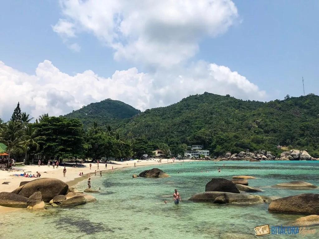 silver beach - viajar a koh samui