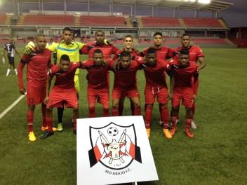 Once inicial del Río Abajo FC