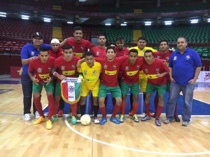 Equipo de Chiriquí previo al partido