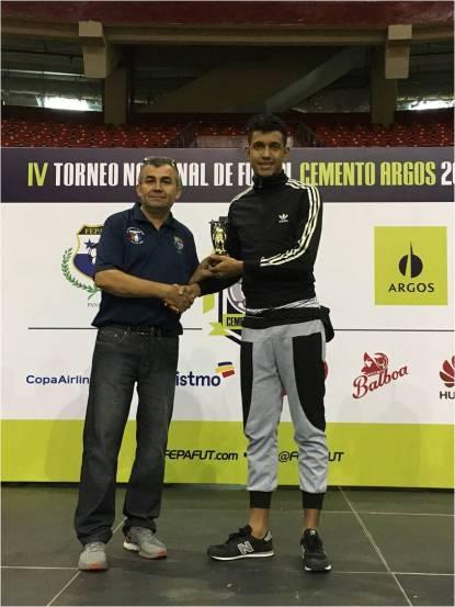 Isaías Soto, máximo anotador del torneo con 20 goles