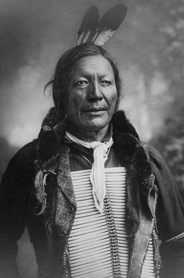 Cuatro tribus indias.