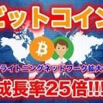 ビットコインのライトニングネットワークが拡大【仮想通貨】