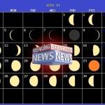 月齢カレンダー2018年11月 (株価予測・ビットコイン・金先物)月の満ち欠け・体調・精神・感情