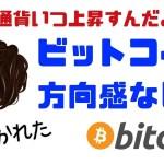 【仮想通貨】おい、ビットコインいつ上がんだよ!