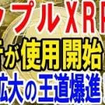 【仮想通貨】リップルXRP銀行が使用開始!実需拡大の王道爆進!!【暗号通貨】