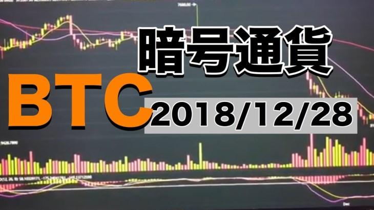 【ビットコイン】2018/12/28 最新相場、チャートから、そして来年の予測