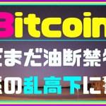 【暗号資産】ビットコイン 油断禁物!年末の値動きは荒れるのか?暗号通貨 仮想通貨