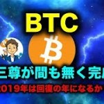 ビットコインは64万円まで爆上げ!2019年は回復の年になるか?#仮想通貨#ビットコイン
