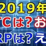 【暗号通貨】FXcoin松田氏が2019年の仮想通貨相場を予想!『ビットコインは?お~!』『リップルは?え~!』