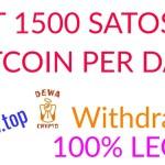 Trik Adbtc.top Dapat 1500 Satoshi Bitcoin Per Hari | Withdraw Legit 100% | Faucethub