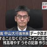 ビットコイン交換会社社長 残高水増しで有罪判決 着服は無罪   NHKニュース