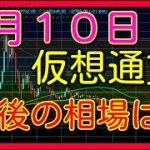 仮想通貨 ビットコイン リップル イーサリアム エイダ バイナンス ライトコイン BTC XRP ETH ADA BNB LTC 4月10日 相場予想 考察