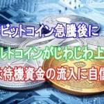 ビットコイン急騰後にアルトコインがじわじわ上昇|Binance CEOは待機資金の流入に自信を示す【仮想通貨】
