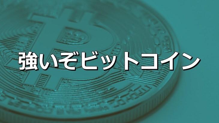 強いぞビットコイン (2019年5月8日)