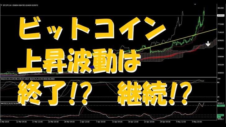 第309回 ビットコイン 上昇波動終了!?それとも継続!?