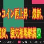 【仮想通貨】リップル最新情報❗️ビットコイン再上昇❗️最新、注目、仮想通貨、強気相場解説💹