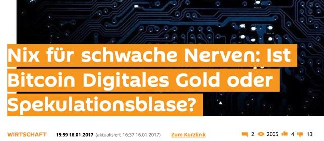digitales Gold