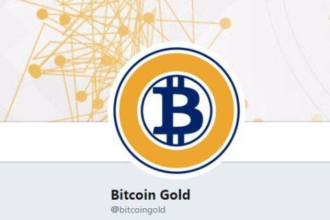 Bitcoin Gold Logo on Twitter (Image: Bitcoin Investors UK)