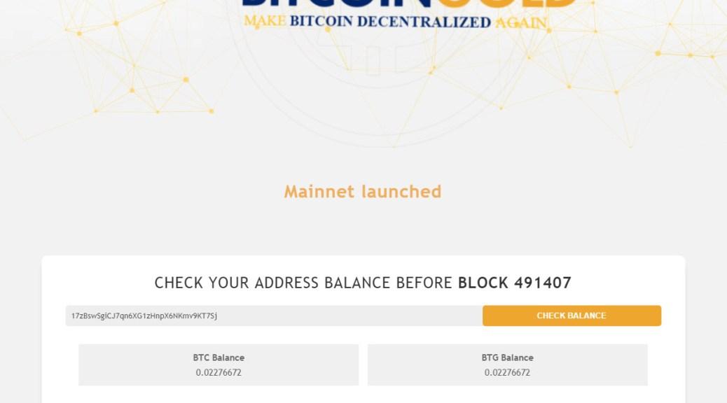 Bitcoin Gold claim confirmed (Image: BIUK)