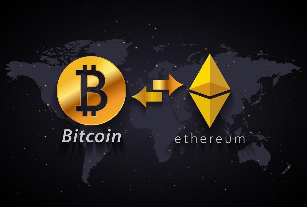 Bitcoin to Ethereum swap