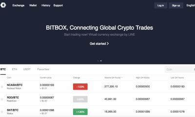 Bitbox Dashboard