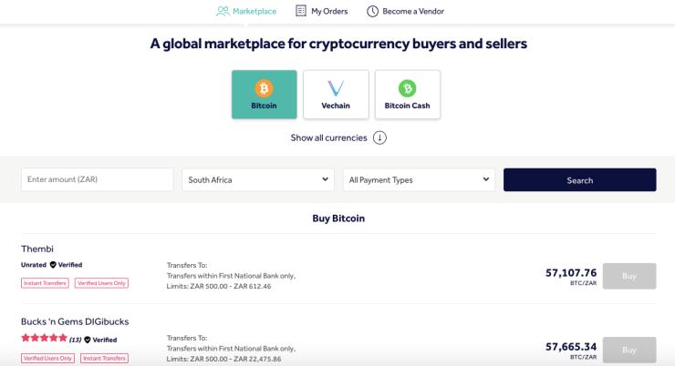 prestiti peer to peer crypto